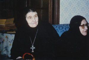 Abbess Theodora and future Abbess Magdalena (Grabbe)