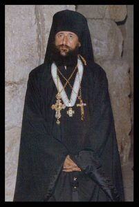 Then Archimandrite and later Bishop Anthony Grabbe