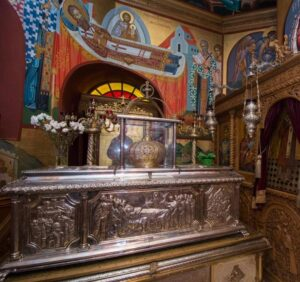 Ecumenistic Sermon at Relics of St Gregory Palamas