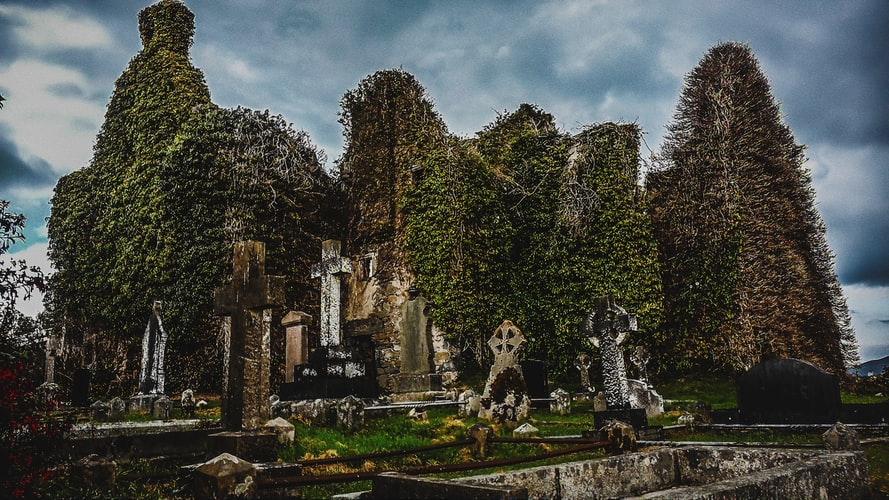 Old church in Ireland