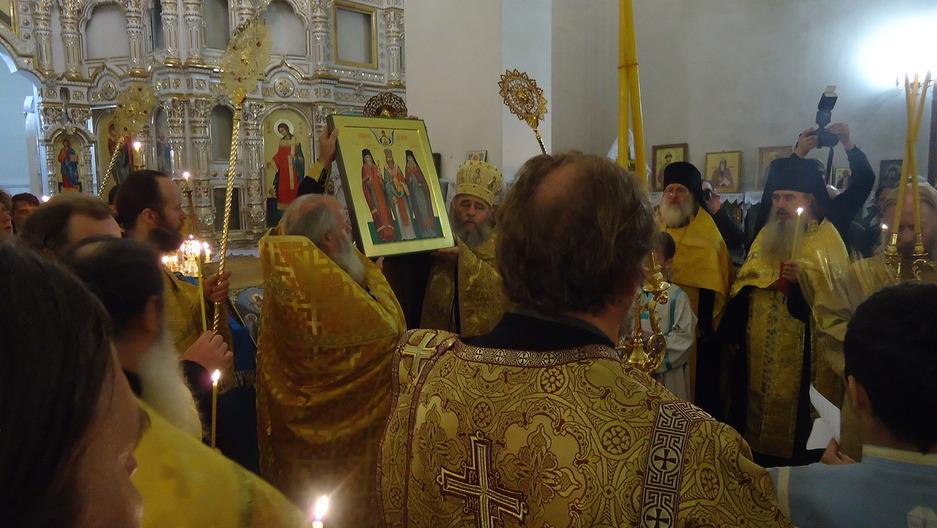 2017 Glorification of St. Ignaty, Azov