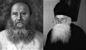 Saint Archimandrite Michael Kostiuk of Kiev (left) and Fr. Peter Savitsky (right)