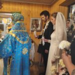 The Wedding of Ilya Fokin (Manager of Affairs of the Holy Synod) to Katsiaryna Remeyeva (Daughter of our Fr. Alexander of Belarus)