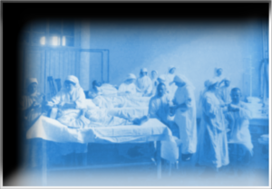 Depiction of a WWI Russian Hospital