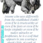 St. Ignatius the God-bearer Teaches Us How to Identify Wolves